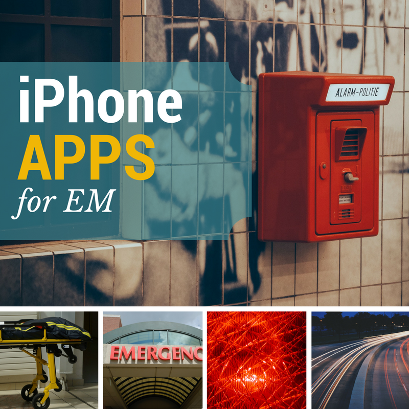 Emergency Medicine iPhone Apps
