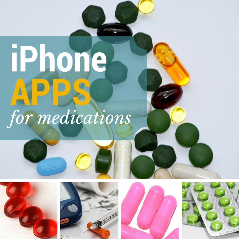 Medication and Antibiotic iPhone Apps