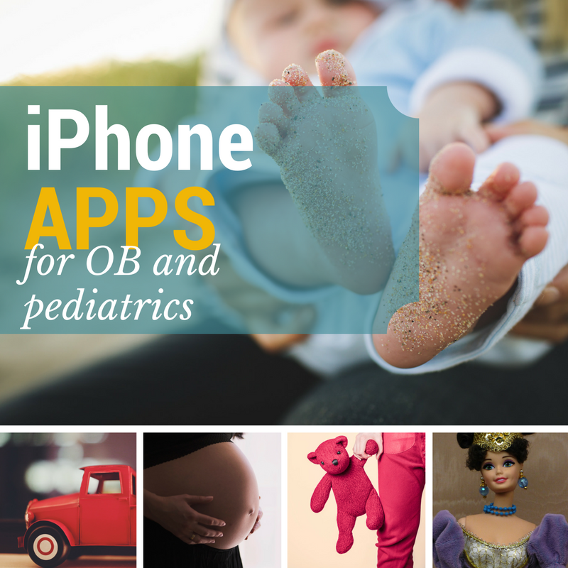OB and pediatric iPhone Apps