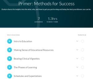 Primer / Methods for Success