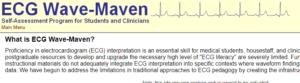 Wave-Maven free EKG