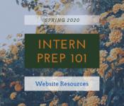 Website Resources for Interns