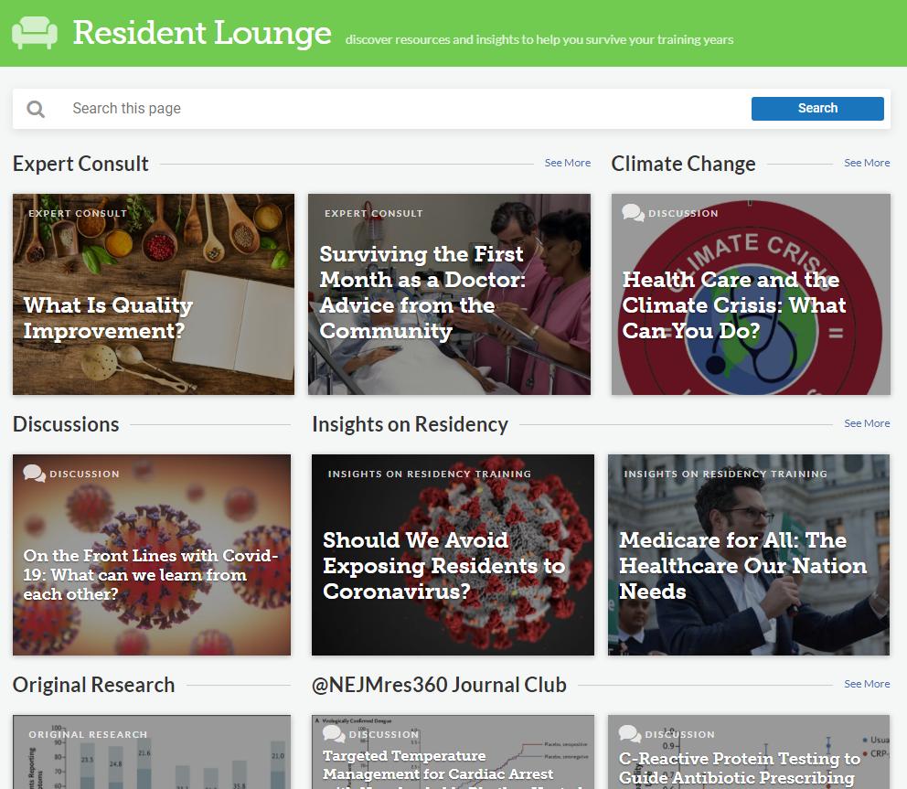 NEJM 360 - Resident Lounge