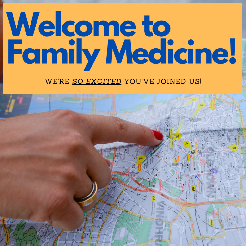 Welcome to Family Medicine!
